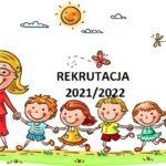 Rusza rekrutacja do przedszkola, oddziałów przedszkolnych w Szkole Podstawowej oraz do klas I Szkoły Podstawowej w Zarzeczu